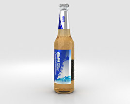 3D model of Snow Beer Bottle