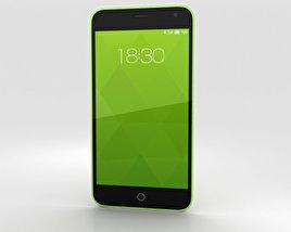 Meizu M1 Green 3D model