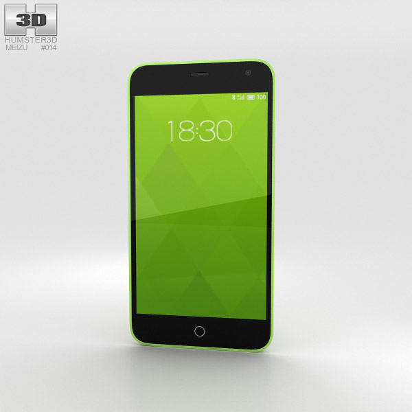 3D model of Meizu M1 Green