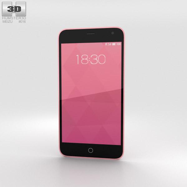 3D model of Meizu M1 Pink