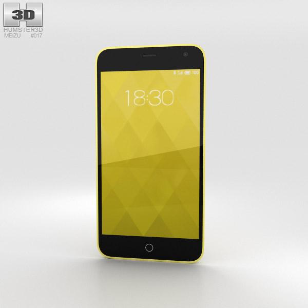 3D model of Meizu M1 Yellow