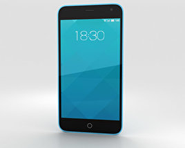 3D model of Meizu M1 Blue