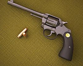 3D model of Colt Police Positive