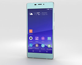 3D model of Gionee Elife S7 Maldives Blue