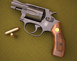 3D model of Smith & Wesson Model 36