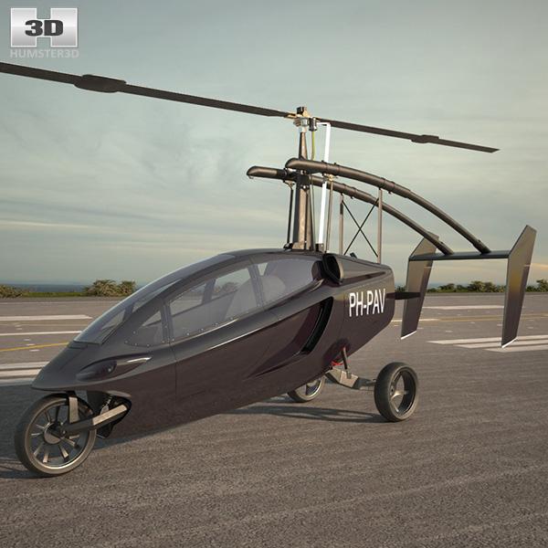 PAL-V ONE 3D model