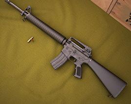 3D model of Colt M16A4