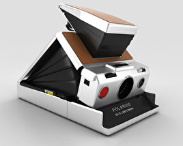 3D model of Polaroid SX-70