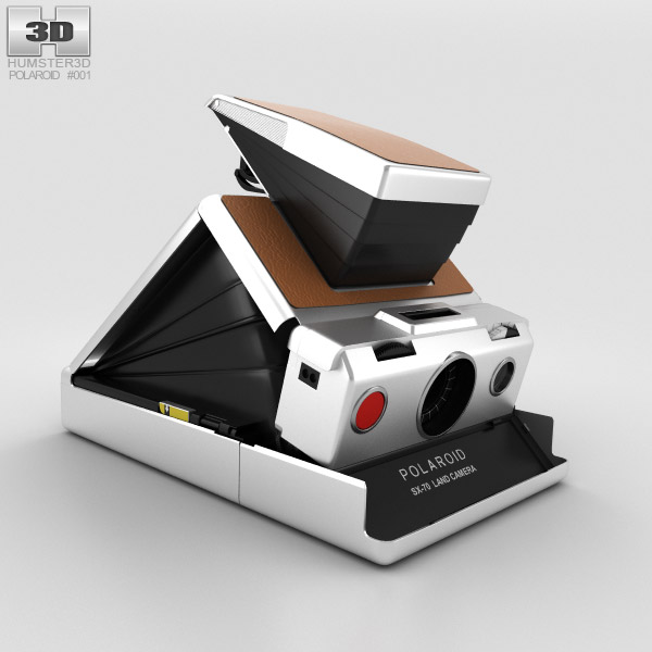 Polaroid SX-70 3D model