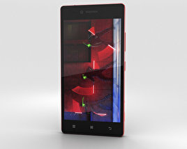 3D model of Lenovo Vibe Shot Crimson