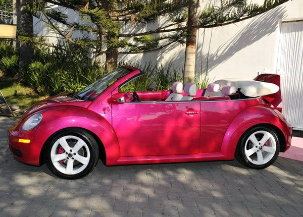 Malibu Barbie New Beetle