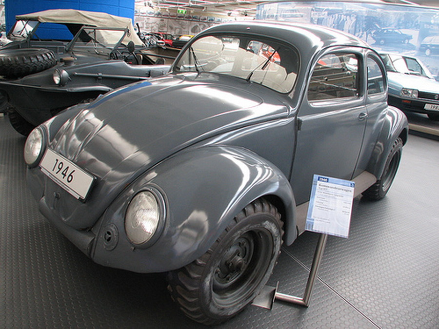 Special military modification of the Beetle