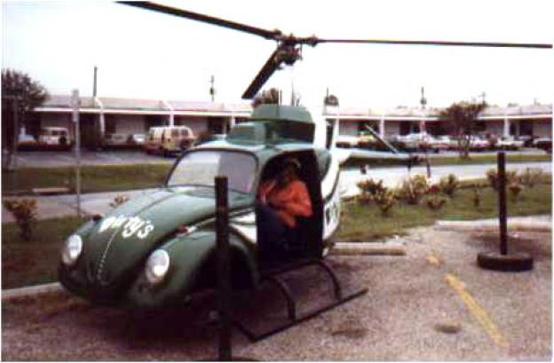Volkswagen Beetle helicopter