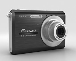 Casio Exilim EX-Z75 Black 3D model