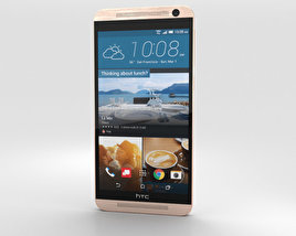 3D model of HTC One E9+ Classic Rose Gold