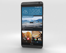 3D model of HTC One E9+ Meteor Gray