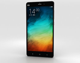 3D model of Xiaomi Mi Note Pro Black