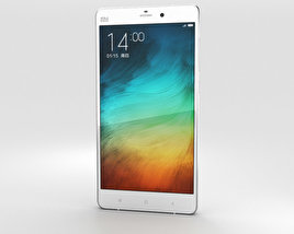 3D model of Xiaomi Mi Note Pro White