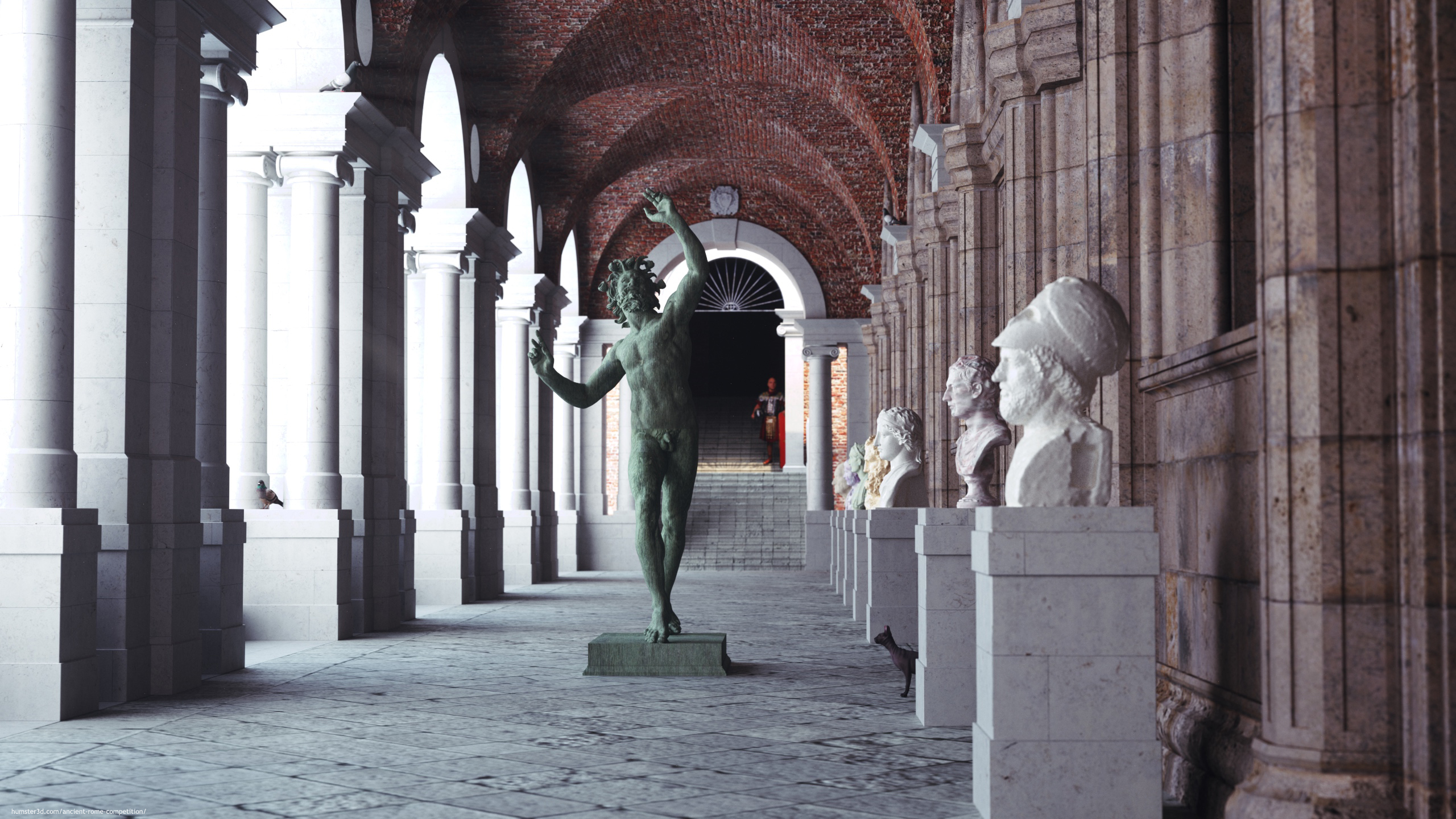 Basilica Palladiana 3d art