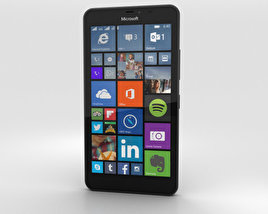 3D model of Microsoft Lumia 640 XL Black