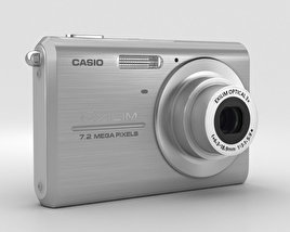 3D model of Casio Exilim EX-Z75 Silver