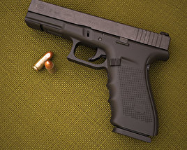 3D model of Glock 21 Gen4