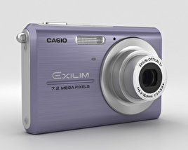 3D model of Casio Exilim EX-Z75 Blue
