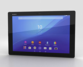 3D model of Sony Xperia Z4 Tablet LTE Black