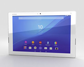 3D model of Sony Xperia Z4 Tablet LTE White