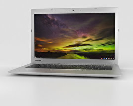 3D model of Toshiba Chromebook 2