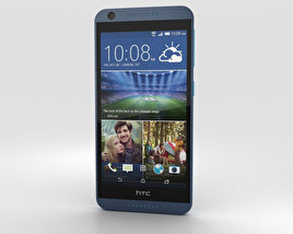 3D model of HTC Desire 626 Blue Lagoon