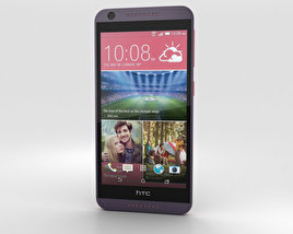 3D model of HTC Desire 626 Purple Fire