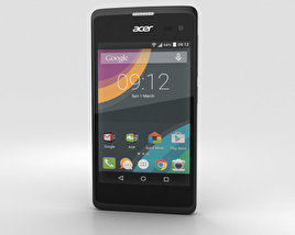 3D model of Acer Liquid Z220 Black