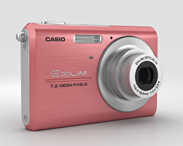 3D model of Casio Exilim EX-Z75 Pink