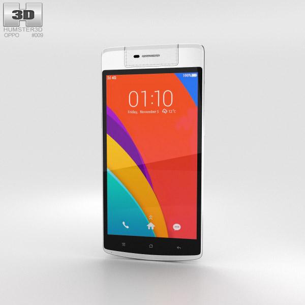 3D model of Oppo N3 White