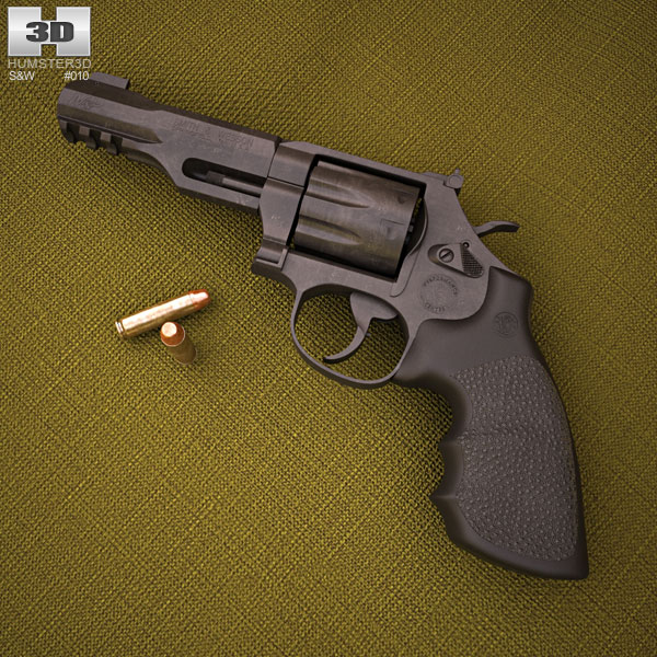 3D model of Smith & Wesson Model M&P R8