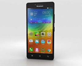 3D model of Lenovo A6000 Black