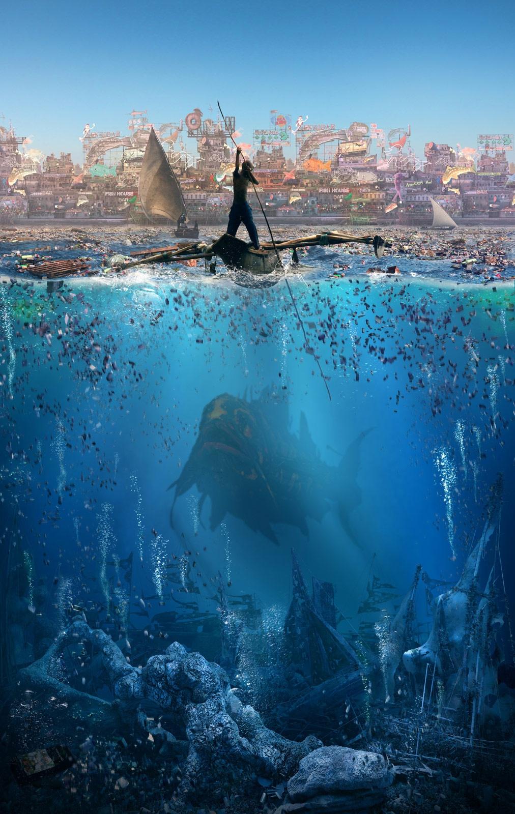 Jonah - Poster by Paul Nicholls