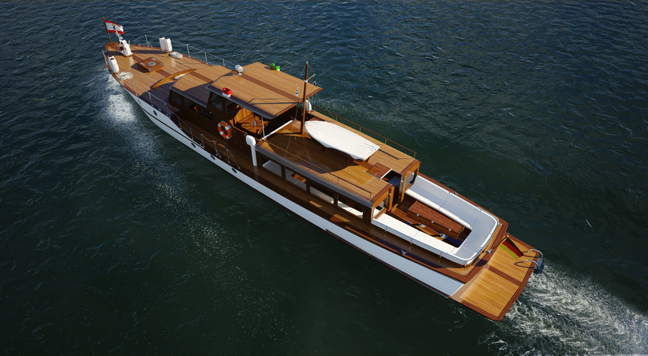yacht by oliver hecke
