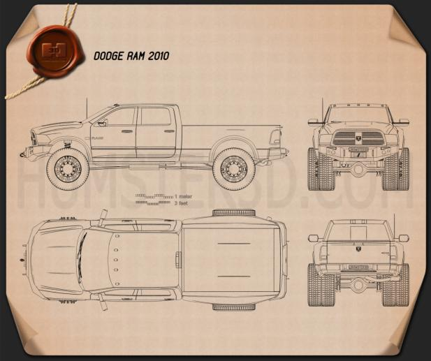 Dodge Ram 2010 Blueprint