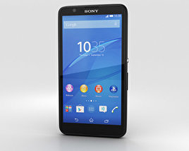 3D model of Sony Xperia E4g Black