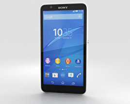 3D model of Sony Xperia E4g White