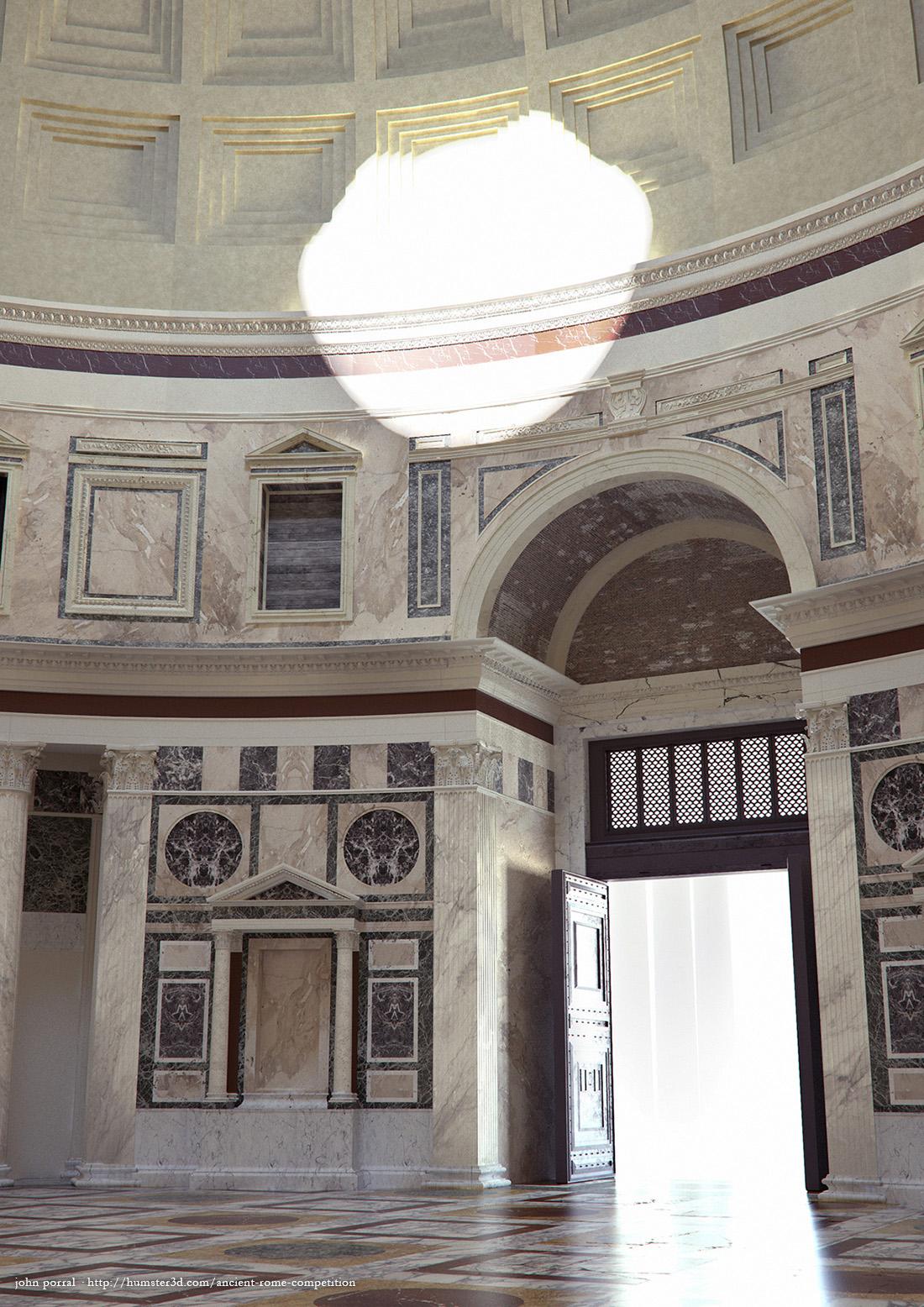 The Pantheon 3d art
