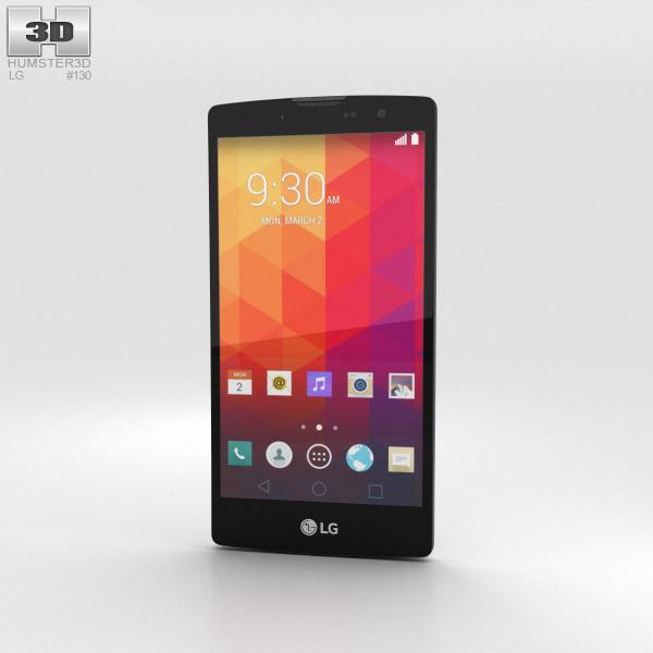 LG Magna White 3D model