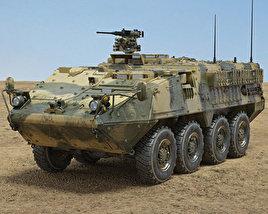 M1126 Stryker ICV 3D model