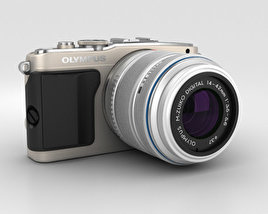 3D model of Olympus PEN E-PL5 Silver