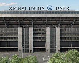 3D model of Signal Iduna Park