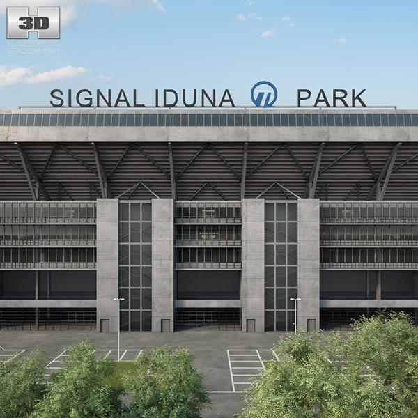 Signal Iduna Park 3D model