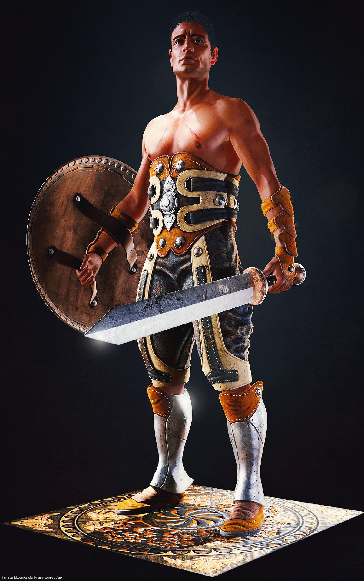 The Gladiator 3d art