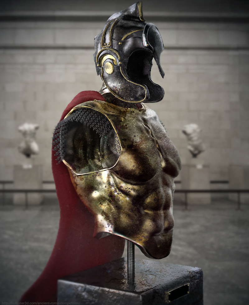 Son of Rome at Museum 3d art